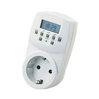 Розетка с таймером электронным реле времени (типаTM22) Horoz electric Timer-2 16A 3500W