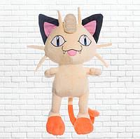 Детская мягкая игрушка, покемон Мяут, Meowth