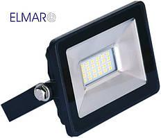 Прожектор светодиодный LFL 10Вт 6400K SMD IP65 чорный 850Lm