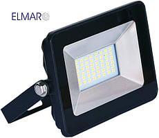 Прожектор светодиодный LFL 20Вт 6400K SMD IP65 чорный 1700Lm