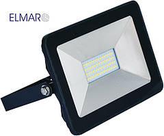 Прожектор светодиодный LFL 30Вт 6400K SMD IP65 чорный 2550Lm
