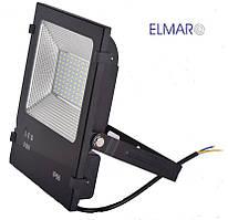 Прожектор светодиодный LFL 50Вт 6400K SMD IP65 чорный 4250Lm