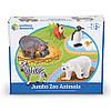 """Набір великих тварин """"Зоопарк"""" від Learning Resources Jumbo Zoo Animals, фото 3"""