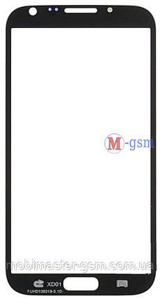 Стекло Samsung N7100 Galaxy Note 2 белое, фото 2