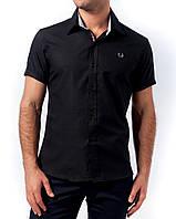Мужская рубашка, 1211M-Black