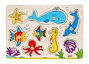 Goki Пазл деревянный Подводный мир 57953, фото 4