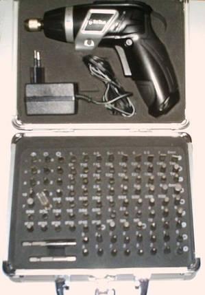 Аккумуляторная отвертка Титан ПАО 3 6 комплект, фото 2