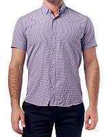 Мужская рубашка TOBETO клетка, 1212M-lilac