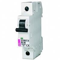 Однополюсный автоматический выключатель 1А Etimat6 C-1/1 (2141504)