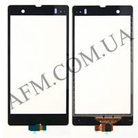 Сенсор (Touch screen) Sony C6602 L36h Xperia Z/  C6603 L36i/  C6606 L36a черный оригинал
