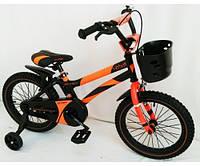 Двухколесный велосипед Hammer S-500 Хамер на 12 14  д оранжевый