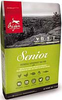 Orijen Senior 11,4 кг - корм для старіючих собак (80% м'яса з додаванням лікарських трав)