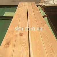 Палубная доска сибирская лиственница 20х140 сорт С