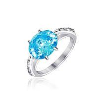 Серебряное кольцо с фианитом КК2ФТ/390 - 17,8