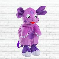 Детский рюкзак,Лунтик,фиолетовый