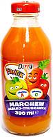 Сок натуральный  морковно - яблочно - клубничный Dizzy Marchew jabko - truskawka 330 ml.