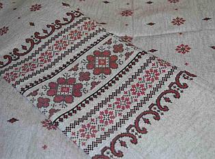 Комплект постельного белья с вышитым рисунком, полуторное