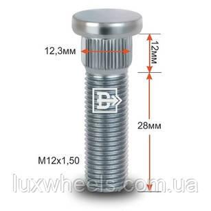 Шпилька забивная CRP123A28 M12X1,50 длина рез.части 28мм Цинк