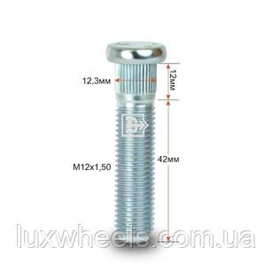 Шпилька забивная CRP123A42 M12X1,50 длина рез.части 42мм Цинк