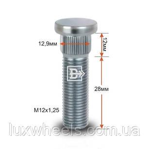 Шпилька забивная CRP129B28 M12X1,25 длина рез.части 28мм Цинк