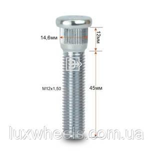 Шпилька забивна CRP146A45 M12X1,довжина 50 рез.частини 45мм Цинк