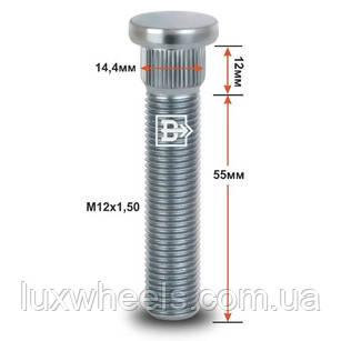 Шпилька забивная CRP144A55 M12X1,50 длина рез.части 55мм Цинк