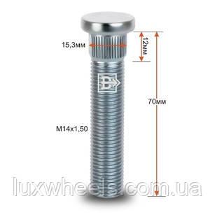 Шпилька забивная CRP153D58 M14X1,50 длина рез.части 58мм Цинк