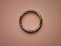 Карабин - кольцо 40 х 6 мм никель