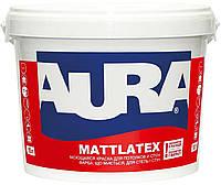 Краска  латексная AURA MATTLATEX интерьерная белая-база А 10л