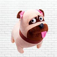 Мягкая игрушка детская, мопс Мэл