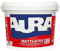 Краска  латексная AURA MATTLATEX интерьерная  транспарентный-база TR 9л