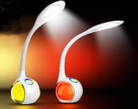 Мультифункциональная разноцветная настольная LED лампа