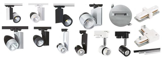 Трекові світлодіодні світильники