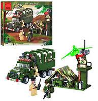 Конструктор BRICK 811 военный лагерь