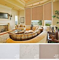 Рулонные шторы ткань Нежность