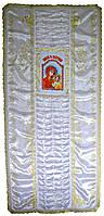 Покрывало похоронное с иконой женское