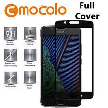 Защитное стекло Mocolo Full сover для Motorola Moto G5 черный