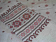 Комплект двуспального постельного белья вышитый рисунок