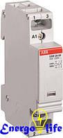 Модульный контактор АВВ ESB20-20-230AC/DC для обеспечения безопасного управления электрическим оборудованием (