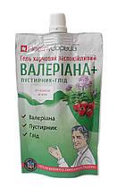 Валеріана і Пустирник + Глід гель харчової заспокійливий 120 мл HEALTHYCLOPEDIA