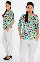 "Стильная блузка для пышных дам "" Софт "" Dress Code"