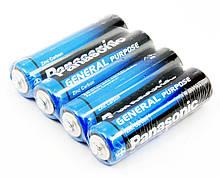 """Батарейки """"PANASONIC"""" General Purpose R3 Tray (4 шт/уп)  Zink Carbon (мизинец)"""