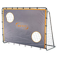 Большые футбольные ворота с экраном 25мм 213х152см. фирмы 4UNIQ