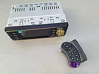 Автомагнитола MP5 Pioneer 4019 c 4,1 экраном. золотая рамка.
