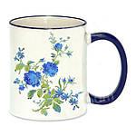 Чашка с Вашим дизайном Two Tone Mug, с цветной ручкой и каймой, фото 7