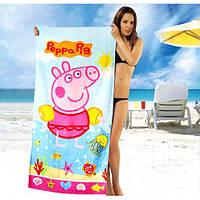 Красивые детские полотенца Peppa Pig