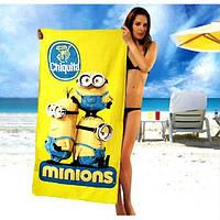 Пляжные полотенца Minions