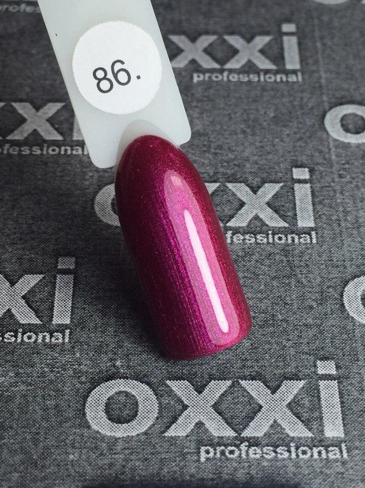 Гель-лак Oxxi Professional № 86, 8 мл