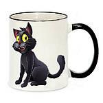 Чашка с Вашим дизайном Two Tone Mug, с цветной ручкой и каймой, фото 9