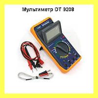 Мультиметр DT 9208 цифровой